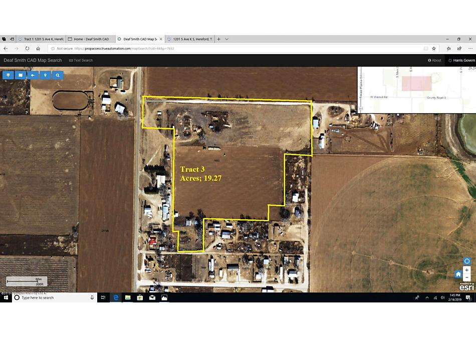Photo of Tract 3 1201 S Ave K Hereford, TX 79045